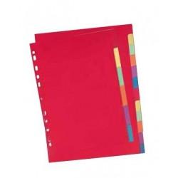 Elba 100204882 Cartoncino Multicolore 12pezzoi divisore
