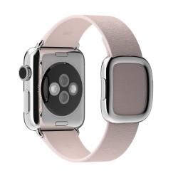 Apple MJ582ZMA Band Rosa Pelle accessorio per smartwatch