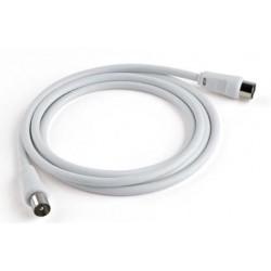Meliconi ANT2M 2m 9.5 mm 9.5 mm Bianco cavo coassiale 497100BA