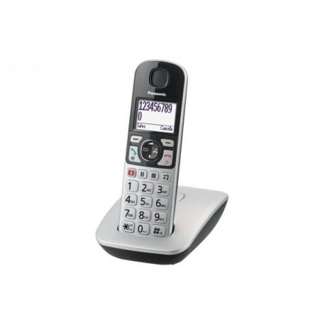 Image of Panasonic KX-TGE510JTS Telefono DECT Identificatore di chiamata Argento telefono KXTGE510JTS
