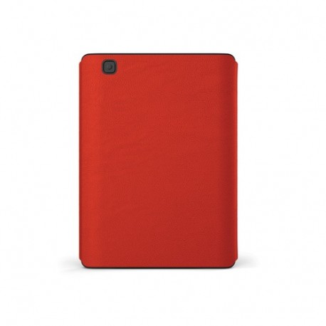 Image of Kobo Cover Sleep per Aura in Pelle Rosso N236-AC-RD-E-PU