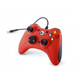 NACON CONTROLLER WIRED PER PC CON PULSANTE HOME COMPATIBILE CON TUTTI I GIOCHI PER PC E CON WINDOWS XPVISTA7810 RED