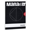Favini Manager quaderno per scrivere 90 fogli Nero, Bianco A4 A423614