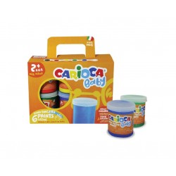 Carioca Finger paint Multi pittura lavabili KO032