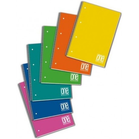 Blasetti One Color A5 80fogli Multicolore quaderno per scrivere 2937