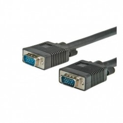 Nilox 6.0m VGA MM 6m VGA D Sub VGA D Sub Nero cavo VGA CROS3604