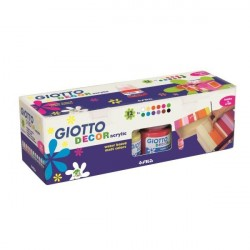 Giotto CF12GIOTTO DECOR ACRYLIC MATT ASSOR