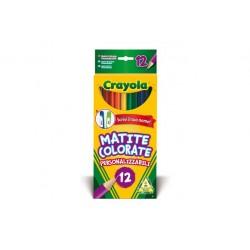 Crayola CF12 MATITE COLORATE PERS.ZZABILI