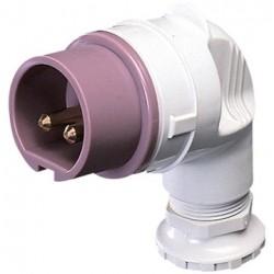 Gewiss GW60132 connettore elettrico standard 16 A 3P Angolo di 90 Maschio