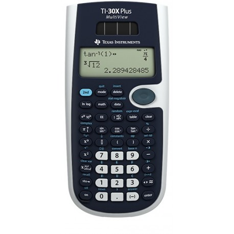 Image of Texas Instruments TI-30X Plus MultiView calcolatrice Tasca Calcolatrice scientifica Nero TI30XPLUS