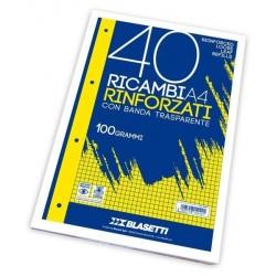 Blasetti RICAMBI A4 RIGHE 1R 40FF 100GR