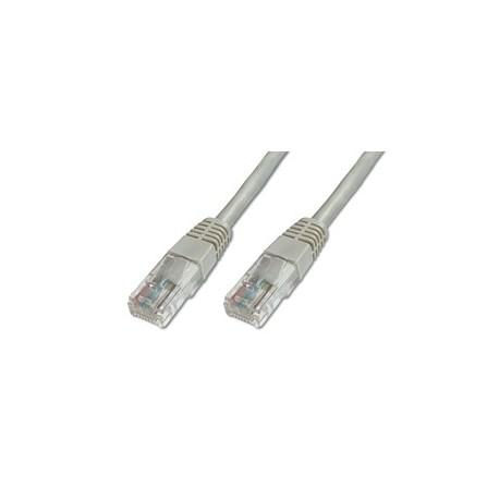 Digitus Patch Cable, UTP, CAT5E 3.0m 3m Grigio cavo di rete DK 1511 030