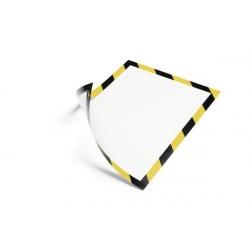 Durable 4945 130 A4 Nero, Giallo cornice magnetica