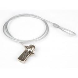 Hamlet Notebook Lock cavo di sicurezza per pc e notebook con lucchetto e combinazione di 120m in acciaio XNBLOCK12N