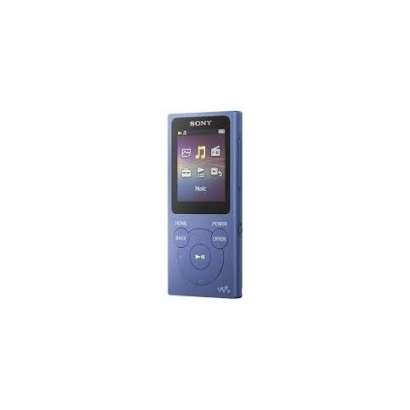 Image of Sony Walkman NW-E394 Lettore MP3 Blu 8 GB NWE394L.CEW