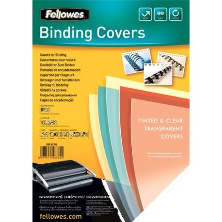 Fellowes 53762 Plastica Trasparente 100pezzoi cartellina