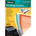 Fellowes 53762 cartellina Plastica Trasparente 100 pezzoi