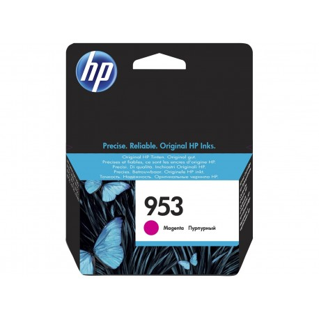 HP 953 Magenta Original Ink Cartridge cartuccia dinchiostro 10 ml F6U13AE301