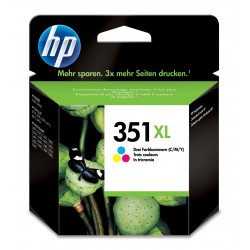 HP 351XL Tri color Inkjet Print Cartridge cartuccia dinchiostro Ciano, Magenta, Giallo CB338EE301