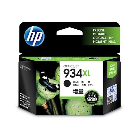 HP 934XL High Yield Black Original Ink Cartridge cartuccia dinchiostro Nero C2P23AEBGX