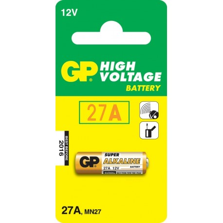 GP Batteries High Voltage 27A Alcalino 12V batteria non ricaricabile IC GP103021