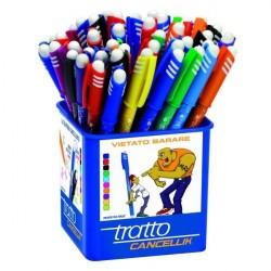 Tratto 826500 Nero, Blu, Verde, Rosso 50pezzoi penna a sfera