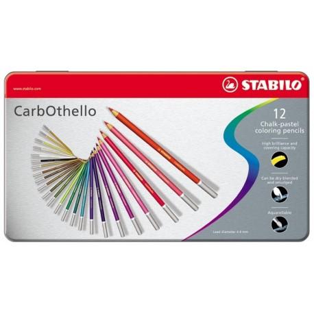 Stabilo Carbothello 12pezzoi pastello colorato 1412 6