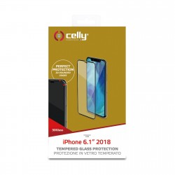 Celly 3D GLASS IPHONE XR BK