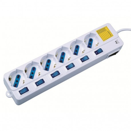 ITB CEEW3930 6AC outlets 1.5m prolunghe e multiple