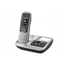 Gigaset E 560 A DECT Identificatore di chiamata Nero, Argento telefono S30852H2728K101