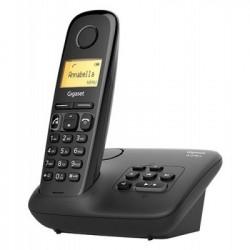 Gigaset A270A Telefono DECT Identificatore di chiamata Nero