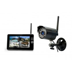 Technaxx Easy Security Camera Set TX 28 Con cavo e senza cavo 4channels kit di videosorveglianza 443