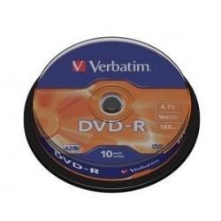Verbatim DVD R Matt Silver 4.7GB DVD R 4352310