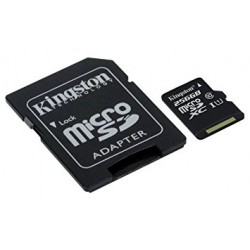 Kingston Technology Canvas Select memoria flash 32 GB MicroSDHC Classe 10 UHS I SDCS32GB