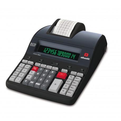 Image of Olivetti Logos 904T calcolatrice Tasca Calcolatrice con stampa Nero B5896