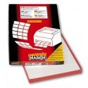 Markin A464 etichetta autoadesiva Bianco Cerchio Permanente 200 pezzoi 210A464