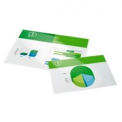 GBC Pouch per plastificazione documenti A4 2x125mic lucide 100 3200723