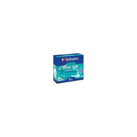 Verbatim DVD RW Matt Silver 4.7GB DVD R 432855