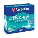 Verbatim DVD-RW Matt Silver 4,7 GB DVD+R 432855