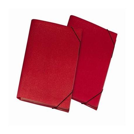 Lebez 2554 R Polipropilene PP Rosso cartella