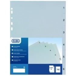 Elba 400006686 Polipropilene PP Multicolore cartella