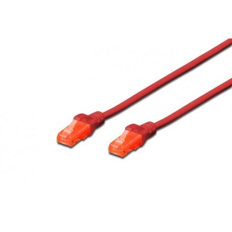 Digitus DK 1617 020R 2m Cat6 UUTP UTP Rosso cavo di rete DK1617020R