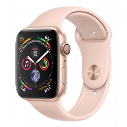 Apple Watch Series 4 Aluminium Gold Sandrosa, Sportarmband, MU6F2FDA, 44mm