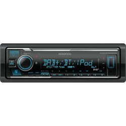 Kenwood Sintolettore KMM BT505DAB MECHALES Sintolettore USB Mechaless, Bluetooth, DAB