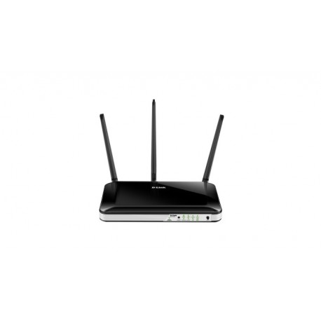 D Link DWR 953 router wireless Dual band 2.4 GHz5 GHz Fast Ethernet 3G 4G Nero