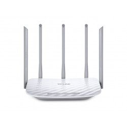 TP LINK AC 1350 router wireless Dual band 2.4 GHz5 GHz Fast Ethernet Bianco ARCHER C60