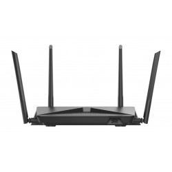 D Link EXO AC2600 MU MIMO router wireless Dual band 2.4 GHz5 GHz Gigabit Ethernet Nero DIR 882