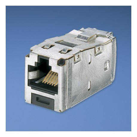 Panduit Mini Com TX6 10Gig Shielded Jack Module TG Style Grigio cavo di interfaccia e adattatore CJS6X88TGY