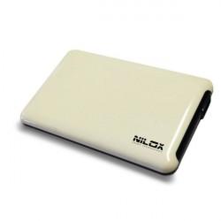 Nilox DH0002WH Enclosure HDD 2.5 Bianco contenitore di unit di archiviazione