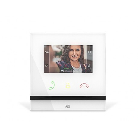 Image of 2N Telecommunications Indoor Compact sistema per video-citofono 10,9 cm 4.3 Bianco 91378501WH